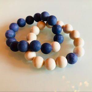 Jewelry - Nautical Colored His and Hers Bracelets set of 2